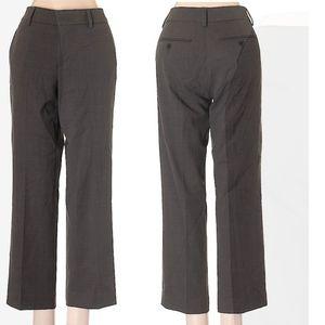 Vince wool blend classic dress pants, gray